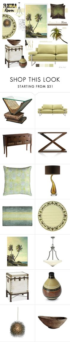 """My Florida Room #brightrugs"" by theseapearl ❤ liked on Polyvore featuring interior, interiors, interior design, home, home decor, interior decorating, Eichholtz, Zuo, Pier 1 Imports and Anjali Hood"