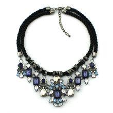 2014 New Fashion Brand Jewelry  Rhinestone Statement Necklaces & Pendants…