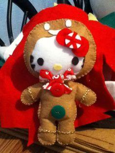 HELLO KITTY disfrasada de galletita :)