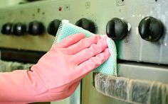 Clean the oven first so that any smoke.