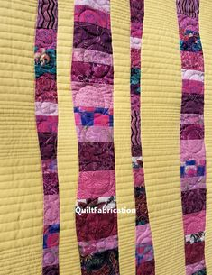 Raspberry Cheesecake quilt closeup 3