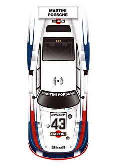 Porsche 935/78 Poster