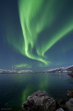 See the Northern Lights. Or alternatively the Southern Lights (aurora australis)