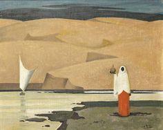 Hussein Bicar (Egypt, 1913-2002) Fellaha in Aswan