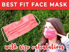 I've been on the hunt for the best fit face mask ever since the coronavirus hit us. After designing 5 masks, I came up with the best custom fitting face mask you can make. Check it out now!