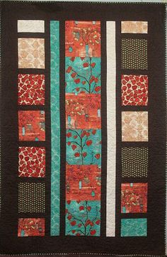 Lantern Lights - An Asian inspired quilt? I could really get into this. :)