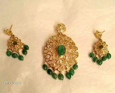Hyd bride Ruby Necklace, Gold Earrings, Drop Earrings, India Jewelry, Gold Jewelry, Jewellery, Uncut Diamond, Necklace Designs, Jewelry Design