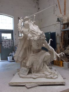 Giant Witcher 3 Sculpture Is As Handsome As Geralt by Tomek Radziewicz