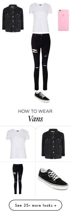 """""""Sans titre #6879"""" by ghilini-l-roquecoquille on Polyvore featuring Topshop, Miss Selfridge and Vans"""
