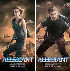 divergent and allegiant image Divergent Trilogy, Divergent Insurgent Allegiant, Theo James, Tris And Tobias, Favorite Movie Quotes, Veronica Roth, Nerd Love, The Fault In Our Stars, Great Movies
