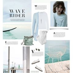 Wave Rider by barngirl on Polyvore featuring T By Alexander Wang, Polo Ralph Lauren, Proenza Schouler and Ina Kent