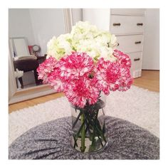 Nothing's better than sleeping in &  waking up to fresh flowers