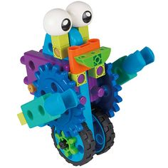 This Thames & Kosmos Robot Engineer kit is a fun and versatile way to teach simple engineering concepts to preschool-age kids. Engineering Science, School Of Engineering, Science Kits, Candy Factory, Baby Fat, Preschool Age, Building For Kids, Cool Toys, Kids Learning