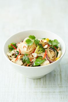 This veggie noodle stir-fry from Jamie Oliver's Food Revolution Collection is a great way to make sure you're getting the vitamins and minerals your body needs. It'll give you two of your five-a-day and you can use whatever vegetables you have in the fridge – perfect for using up leftovers too!