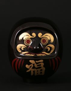 漆塗りカーボンダルマ(飛騨春慶塗)