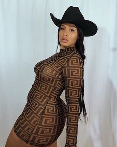 The Black Yeehaw agenda is chic and thriving. Cowgirl Look, Black Cowgirl, Black Cowboys, Gypsy Cowgirl, Sexy Cowgirl, Cowgirl Dresses, Cowgirl Outfits, Cowgirl Clothing, Cowgirl Fashion