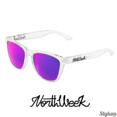 8163fa19b5 Gafas de Sol Northweek white bright / purple. Gafas polarizadas. Entrega en  24/