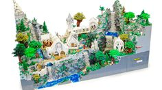 This Lord Of The Rings Rivendell... 'cause one can never have too many legos....