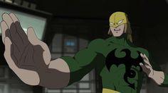 ultimate spiderman iron fist | superheroes-or-whatever:Iron Fist from Ultimate Spider-Man