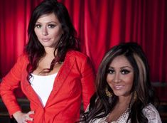 Jenni #JWOWW and a pregnant Nicole #Snooki Polizzi talk about their #JerseyShore spinoff show '