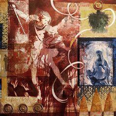 Santa Fe mixed media & assemblage artist - Darlene Olivia McElroy