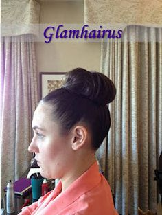 Updo by Gina of Glamhairus