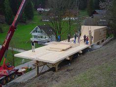 Wohnbühne Galerie, Holzbau Stiegler KG - Wohnträume und Lebensräume aus Holz - moderner Holzhausbau