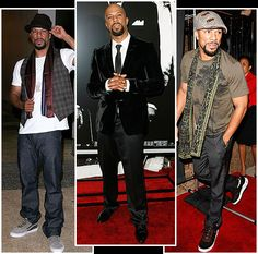 Damn does this man know how to dress or what? Shit he's supa fine!!! Common.