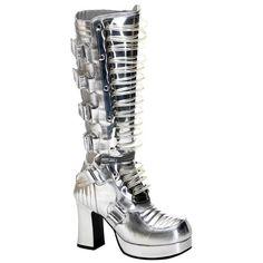 Demonia Women's UV Reactive Footwear from Demonia.co.uk ($195)