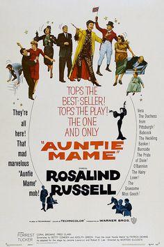 """1958 Morton DaCosta's """"Auntie Mame"""""""