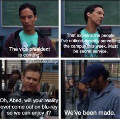 Abed Nadir my bb