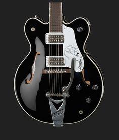 Gretsch G6137TCB Panther Black Thomann www.thomann.de #black #cat #miaow #guitar #white #gretsch #electricguitar