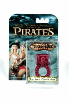 Digital Playground Jesse Jane's Pleasure Ring, Red/copper by Digital Playground. $14.99. Both partners are sure to enjoy this multifunctional intense vibrating ring with skull and crossbone heart clitoral stimulator. Removable highly detailed copper bullet is sure to please you and your partner. Takes three watch batteries, included.