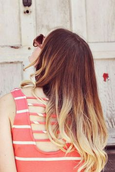Summertime Sister Style Ombre Hair- totally doing something like this tomorrow! Bad Hair, Hair Day, Hair Inspo, Hair Inspiration, Wispy Hair, Light Brown Hair, Ginger Hair, Ombre Hair, Balayage Hair