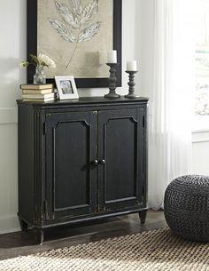 Mirimyn Multi Door Accent Cabinet Oak Furniture Land Sets Country
