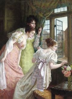 The Squire's Arrival by Mary Harding (1880-1903)