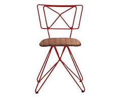 Cadeira Butterfly Xadrez - Vermelha - Amei estas cadeiras. R$199,90