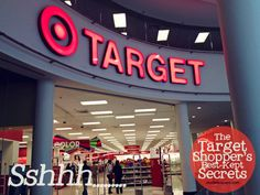 Target Shopper's (and Employees) Best-Kept Secrets - Read on to the comments section for some great insider info!