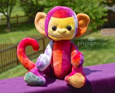 Sherman the Monkey by PlumPapaya on Etsy, $55.00