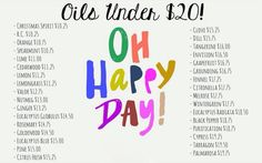Become a wholesale member and receive a continuous discount. Oils under $20