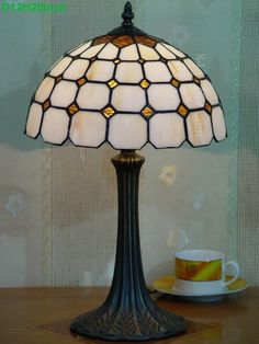 Grid Tiffany Lamp12S9-40T325