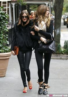 Olivia Palermo Gets Close With A Dear Friend