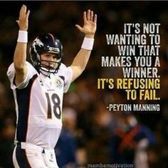 Peyton Manning  &  Denver Broncos....Super Bowl 50 Champs....Is there anyone who doesn't look up to the Manning men? Such talent sprinkled with class! They deserve only the best. Kudos to the Manning Mom and Dad. Don't think there's anyone who doesn't like the Mannings. SB      PS Much  happiness on your retirement! I know I speak for many of your fans when I say, that although I am sorry to see you leave, I am also thankful, because we worry about your health.