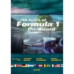 DVD - 50 Years of Formula 1    Member Price: $34.95