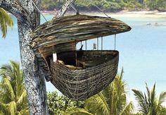 Thailand's High-Wire Treetop Restaurant
