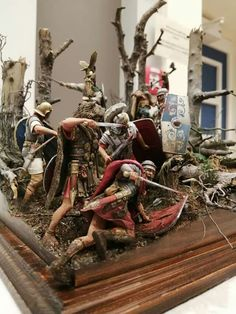 Roman Soldiers, Toy Soldiers, Viking Decor, Roman Warriors, Classical Antiquity, Late Middle Ages, Roman History, Military Modelling, Military Diorama