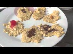 Galletas de avena fitnnes en microondas. Oatmeal, Breakfast, Food, Microwaves, Oat Cookies, Colleges, Afternoon Snacks, The Oatmeal, Essen