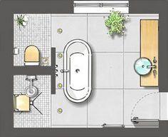 ideas about Bathroom design layout - Bathroom Design ideas Master - Bathroom Decor Layout Design, Bathroom Design Layout, Bathroom Interior Design, Design Ideas, Bath Design, Bathroom Designs, Bathroom Layout Plans, Master Bath Layout, Master Suite