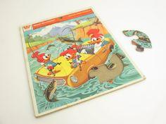 Vintage 1978   Woody Woodpecker  Puzzle by SandyLeesAttic on Etsy, $12.95