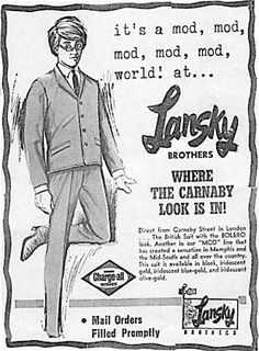 Lansky Brothers — Where the Carnaby Look is In!